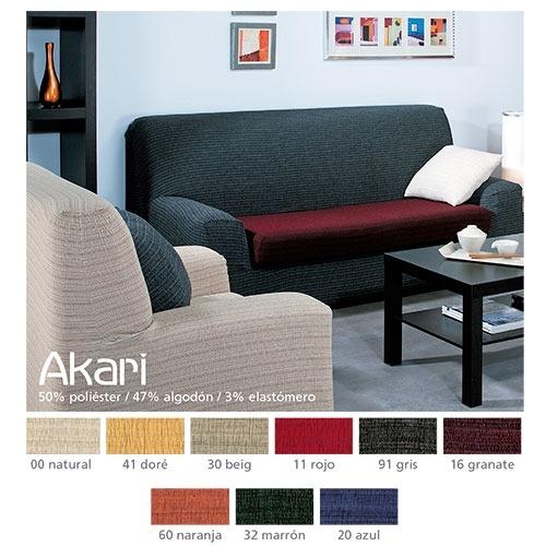 Fundas de sofá elásticas Akari de Cañete