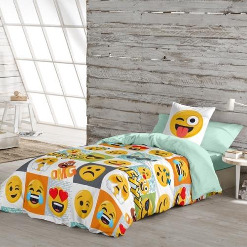 Funda Nórdica Hey de Emoji