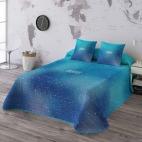 Colcha Bouti Cosmos blue de Munich