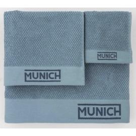 Juego toallas azul de Munich