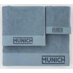 Juego de toallas azul de Munich