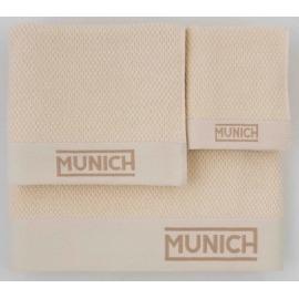 Juego toallas marfil de Munich