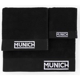 Juego toallas negro de Munich