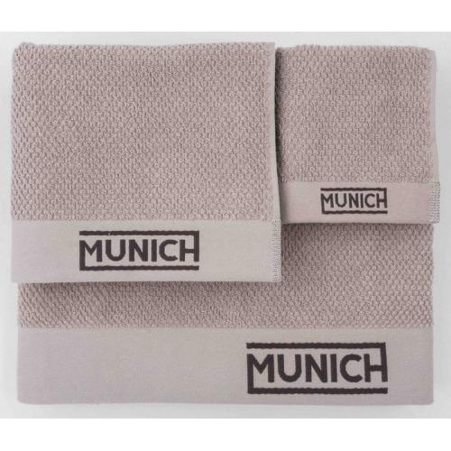 Juego de toallas silver de Munich