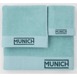 Juego toallas turquesa de Munich
