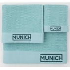 Juego de toallas turquesa de Munich