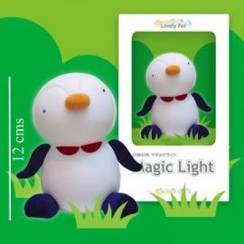 Luz de compañia Pinguino de Belydom