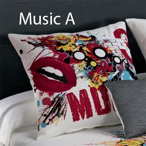 Cojines Music de Cañete
