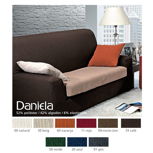 Fundas de sofá bielásticas Daniela de Cañete