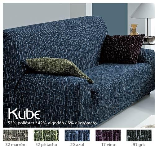 Fundas de sofá bielásticas Kube de Cañete