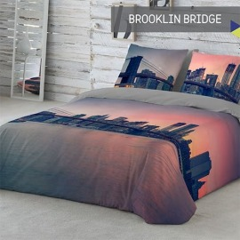 Fundas Nórdicas Brooklin Bridge de Naturals