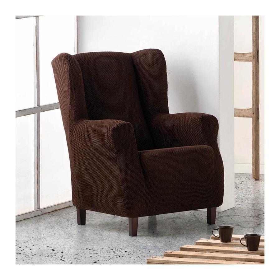 Funda de sillón Orejero elástica Cora de Eysa