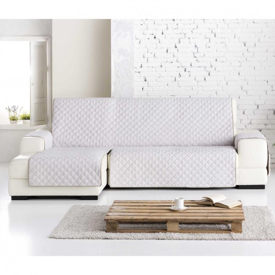 Funda de sofá práctica Chaiselongue Dual Quilt de Eysa