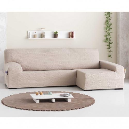 Funda de sofá Chaiselongue bielástica Tendre de Eysa