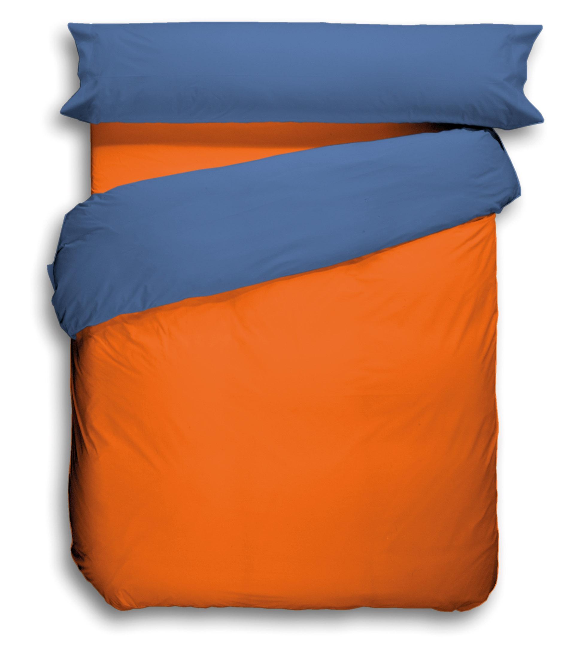 Naranja Caqui-Azul marino