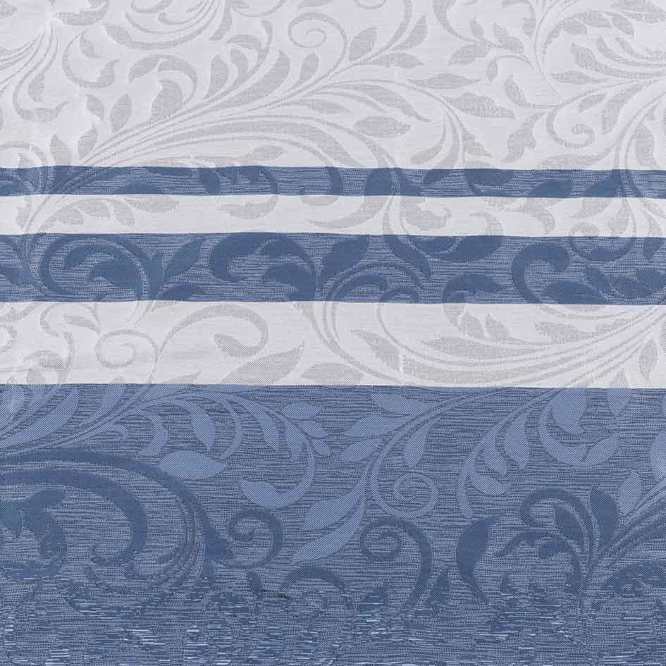 Cortina con ollaos Paola-azul