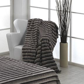 Plaid Moscu de Textils Mora-único
