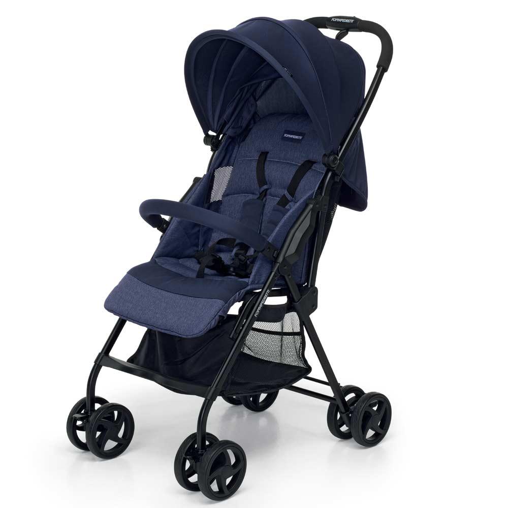 Carrito bebé Piuleggero de Foppapedretti-azul