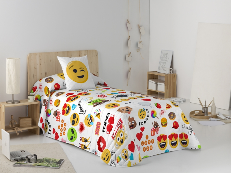 Colcha Bouti Party de Emoji